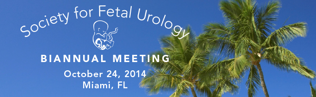 Society for Pediatric Urology - 2014 Fall Congress Program